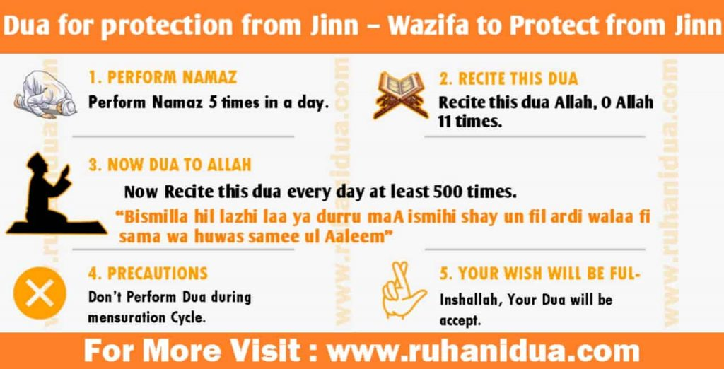 Dua for protection from Jinn - Wazifa to Protect from Jinn