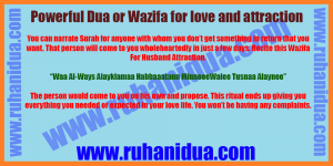 best Powerful Dua or Wazifa for love and attraction- 100% Working