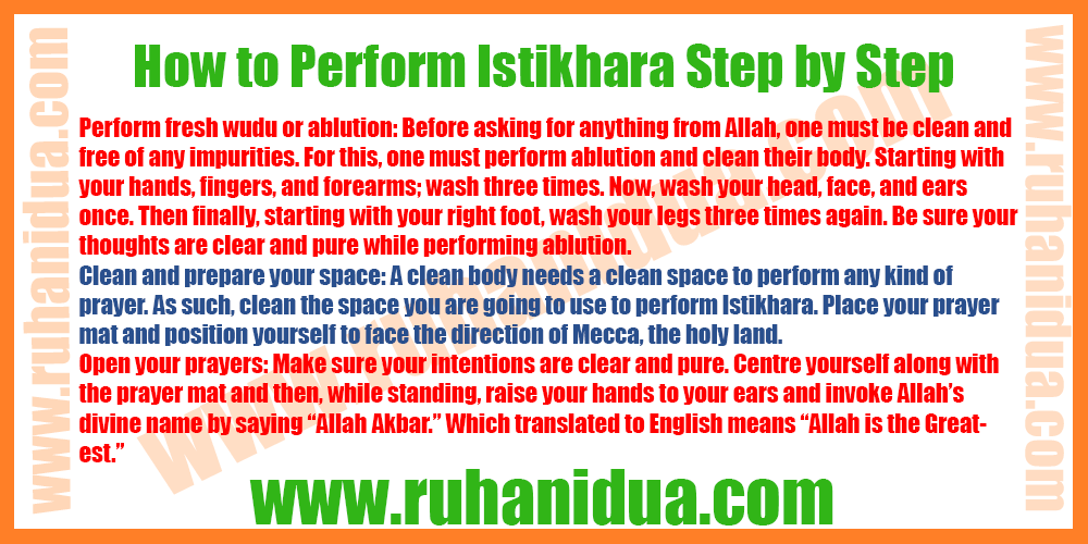 How to Perform Istikhara Step by Step - Benefits Of Istikhara