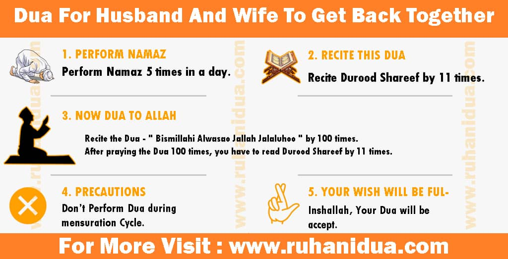 Powerful Dua For Husband And Wife To Get Back Together
