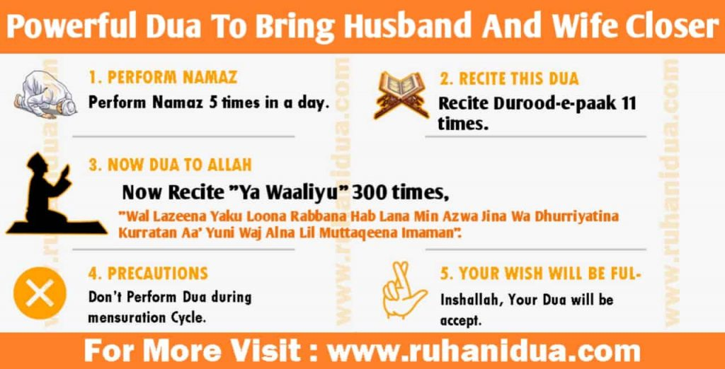 Powerful Dua To Bring Husband And Wife Closer