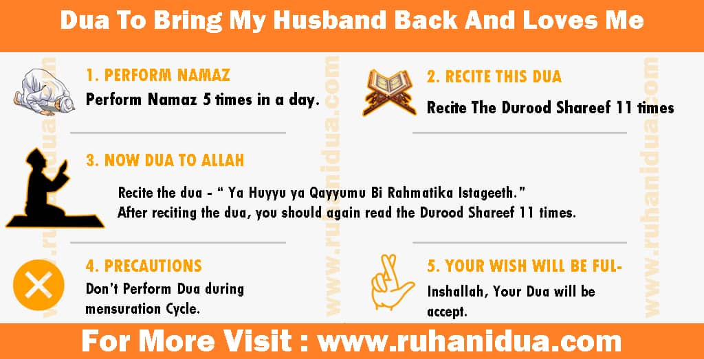 Powerful Dua To Bring My Husband Back And Loves Me