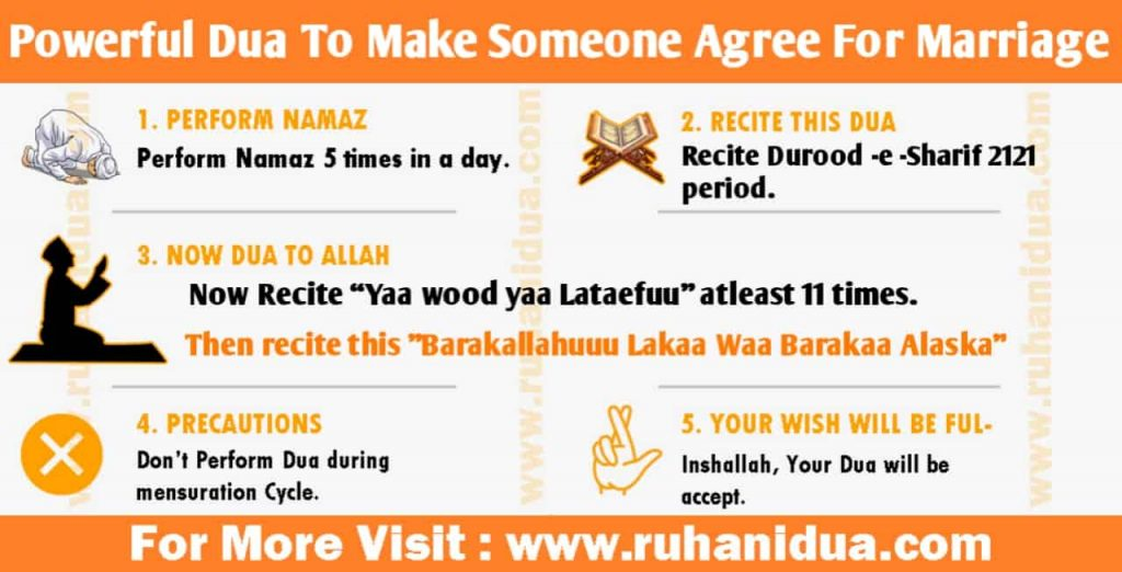 Powerful Dua To Make Someone Agree For Marriage