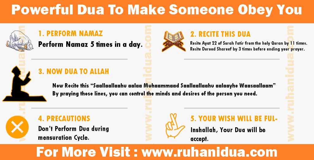 Powerful Dua To Make Someone Obey You