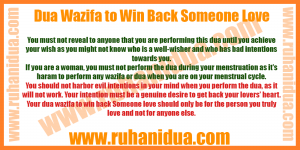 best Dua Wazifa to Win Back Someone Love - 101% Working