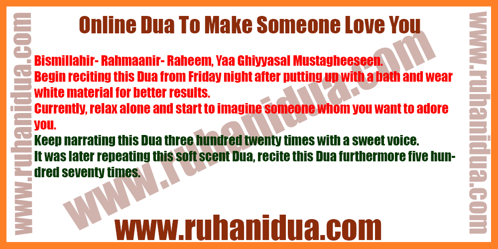 best Online Dua To Make Someone Love You- 100% Working