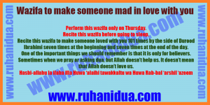 best Wazifa to make someone mad in love with you - 101% Effective