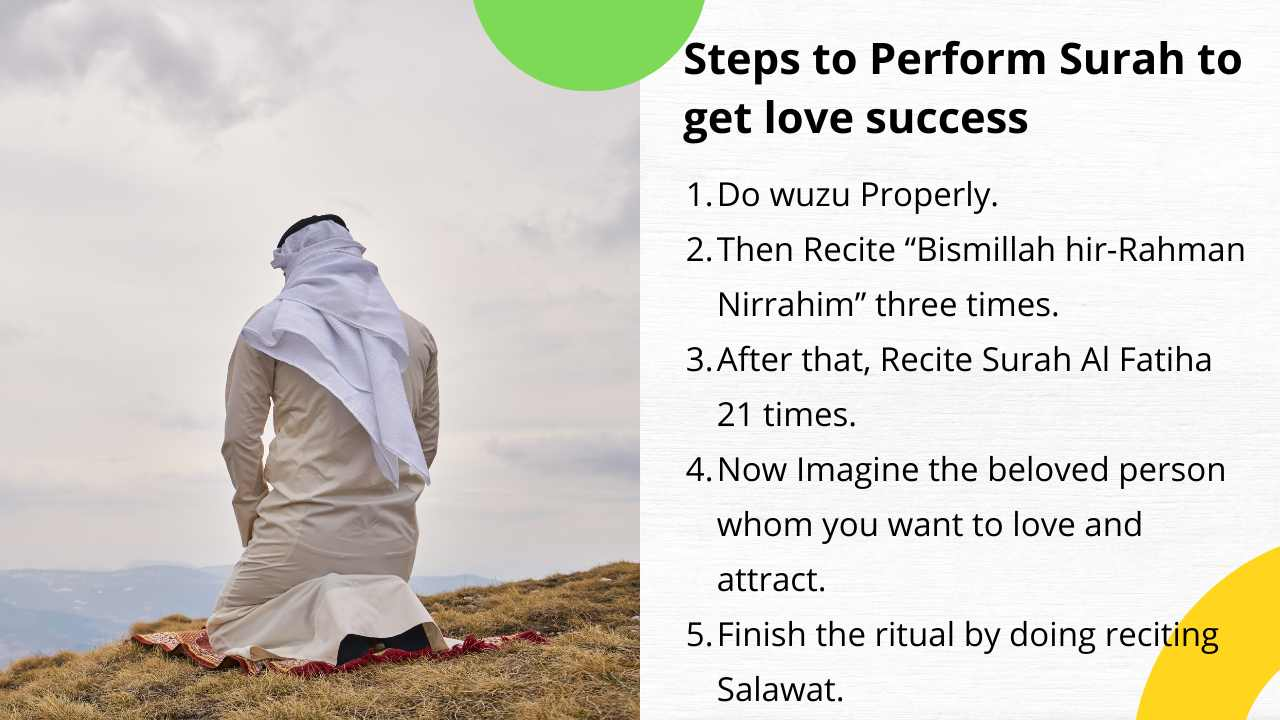 Steps to Perform Surah to get love success